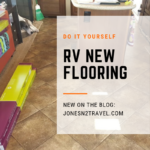 New Flooring in Our Fifthwheel