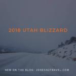 Utah Bound! First Road Trip of 2018