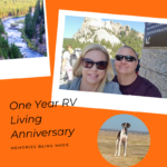 One Year RV Living Anniversary