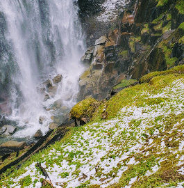Mt Rainier Narada Falls