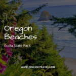 Ecola State Park, Crescent and Cannon Beaches in Oregon