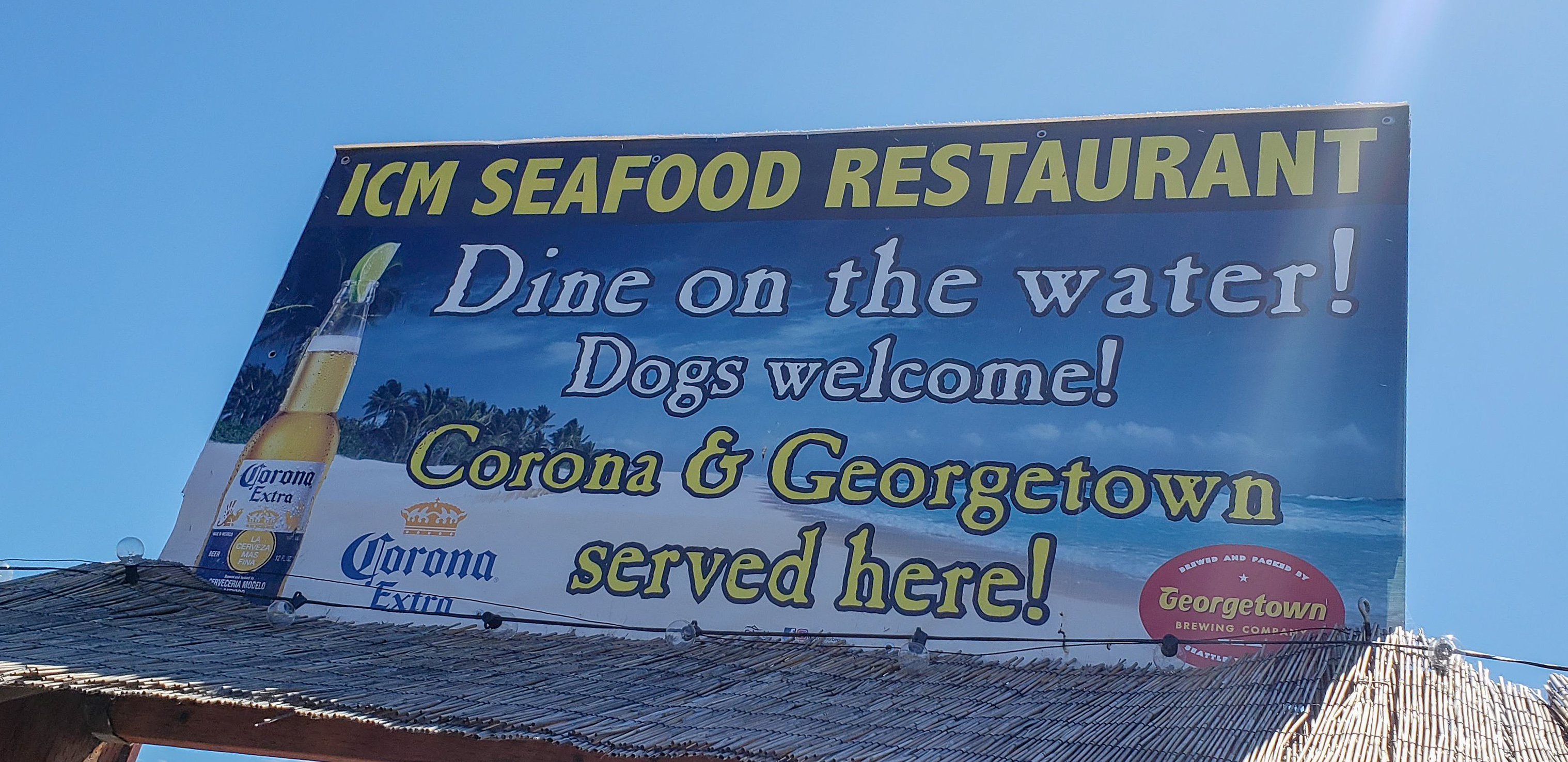ICM Seafood DOG Friendly Restaurant right on the boardwalk in downtown Florence!