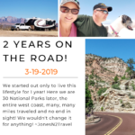 Our 2 Year Nomadiversary!