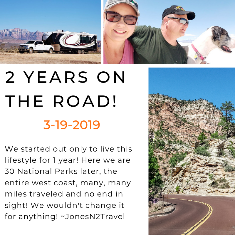 Our 2-year Nomadiversary