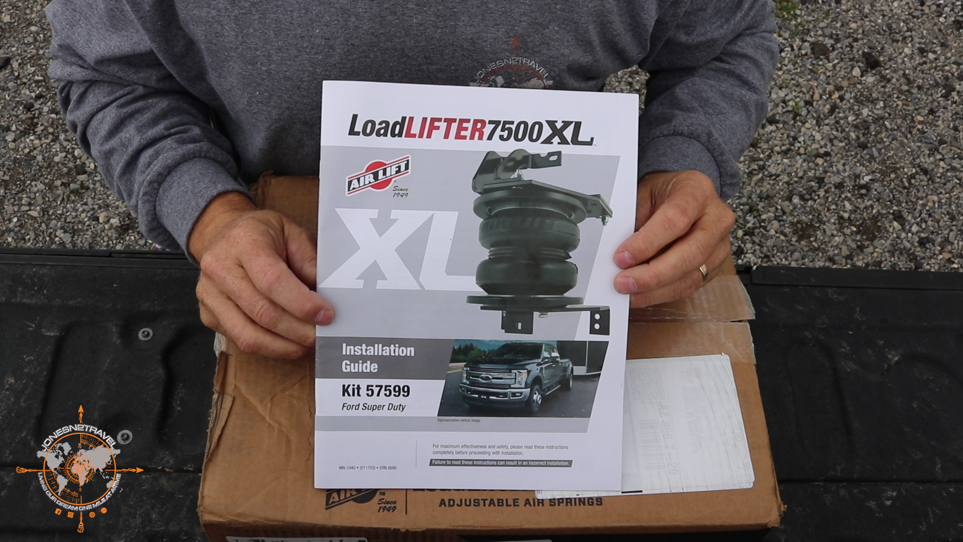 Installing Airbags on 2017 Ford Super Duty F350