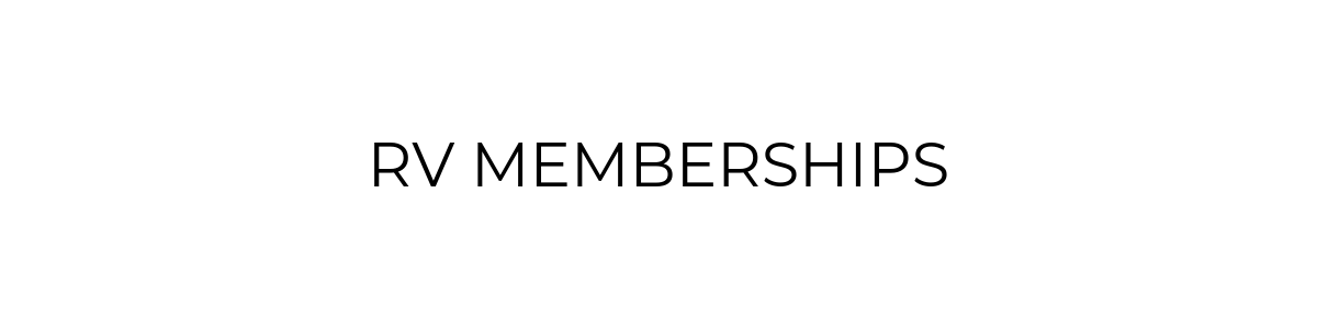RV Memberships