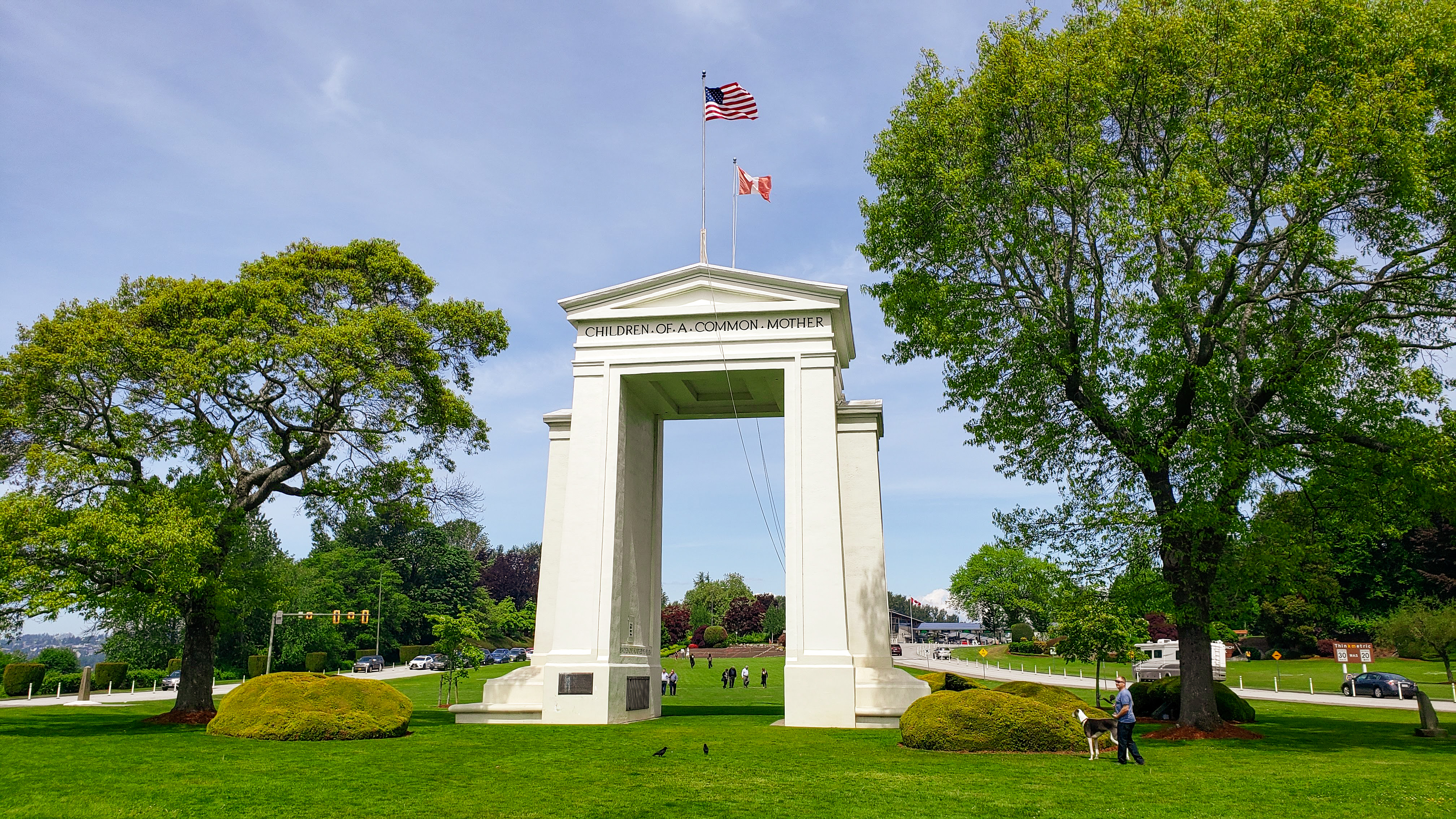 Peace Arch Historical State Park, Washington