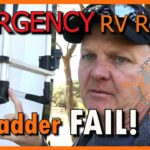 How to: Emergency RV Ladder Repair on the Road