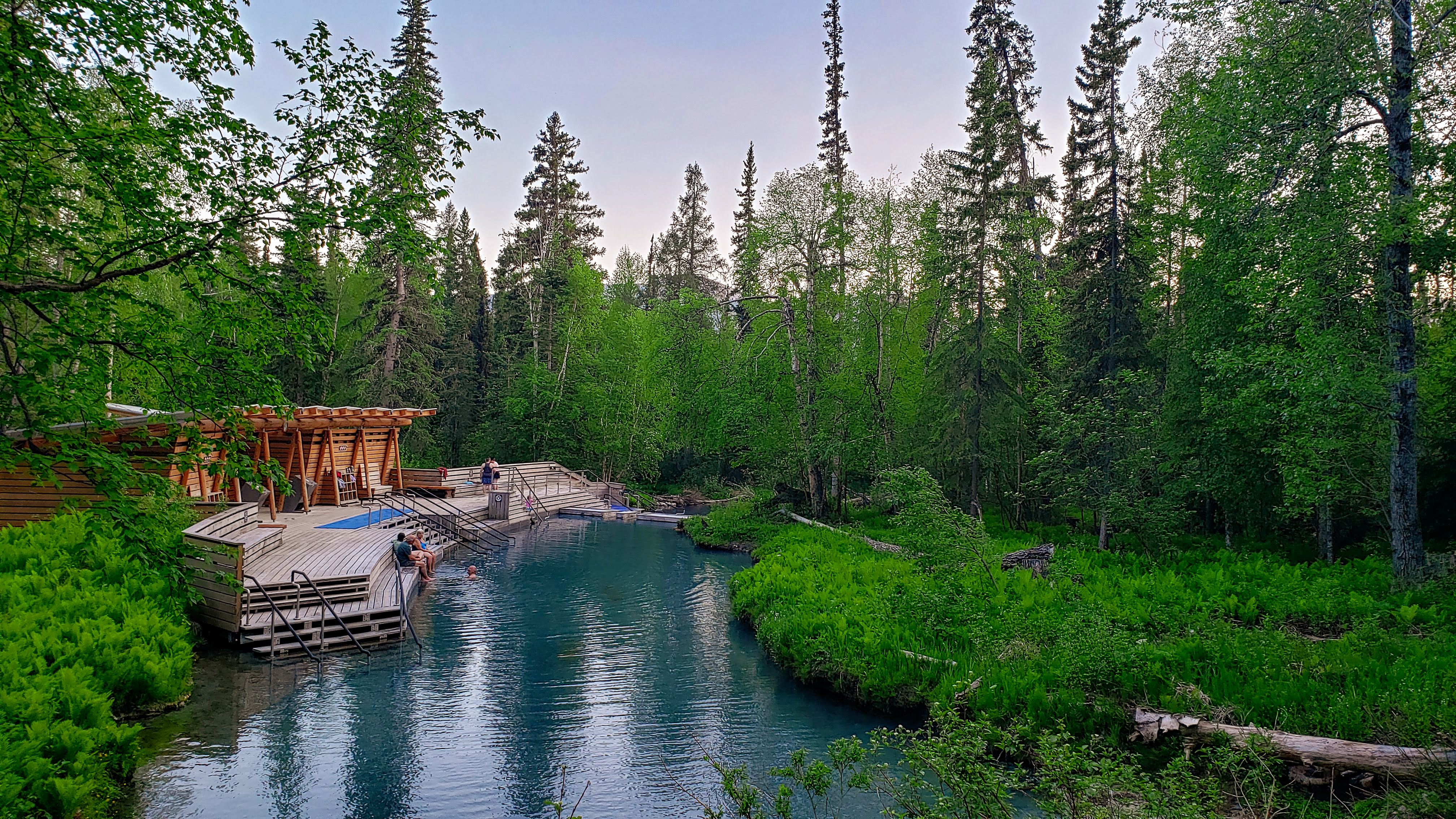 Liard River Hot Springs