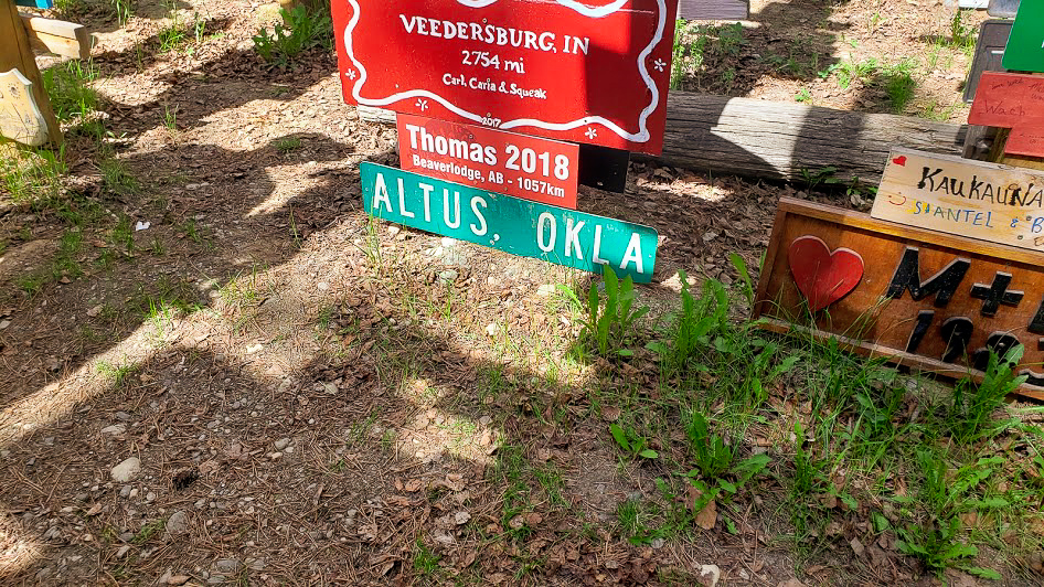 We lived in Altus OK from 1994 - 1996