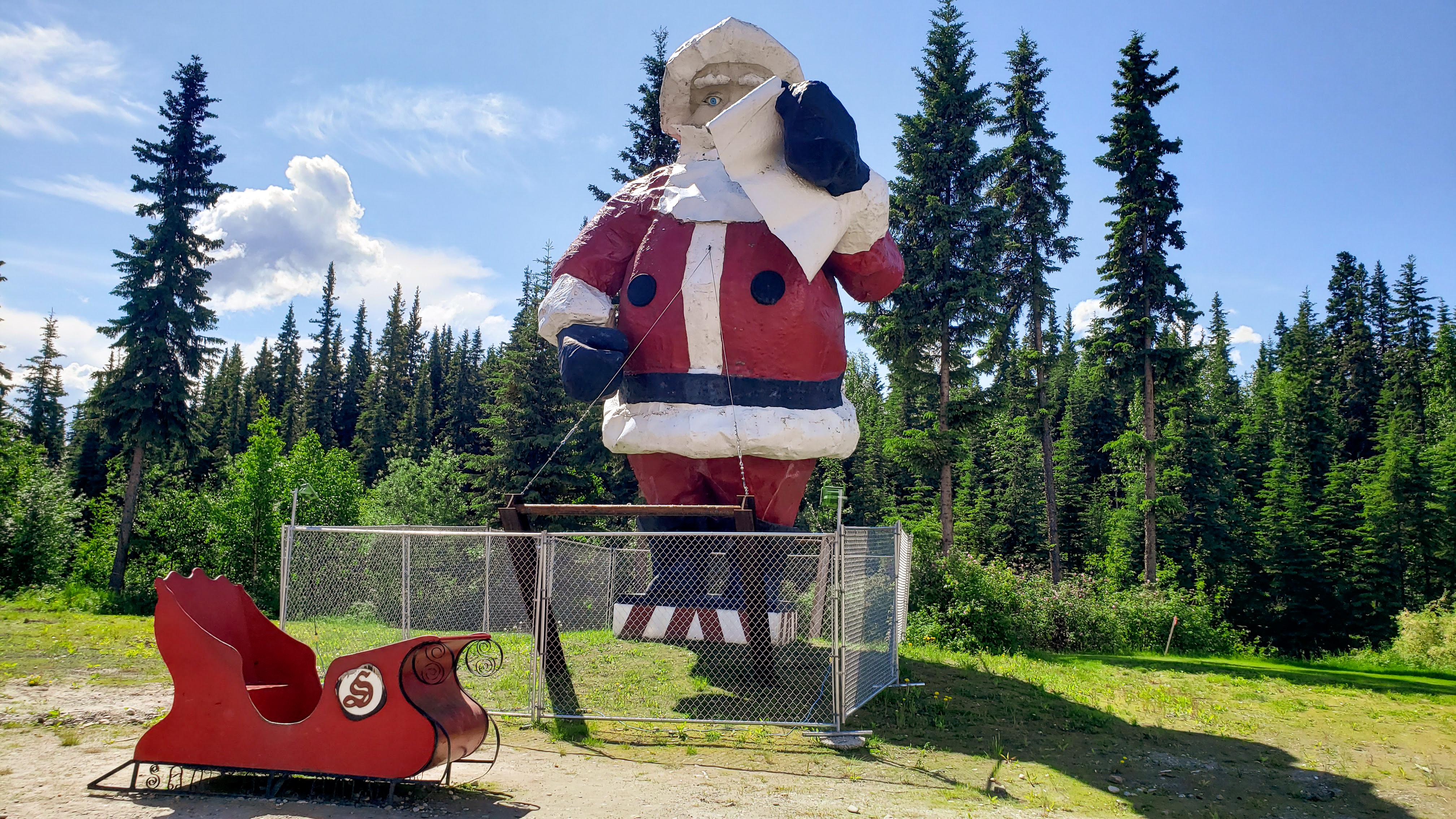 Santa's Summer Home