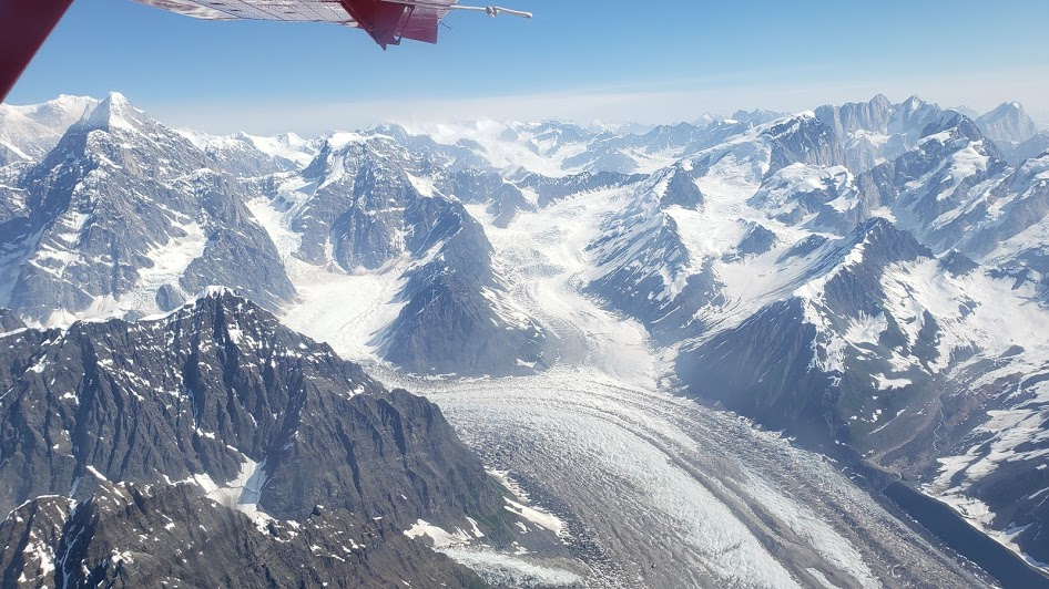 Glacier Flight