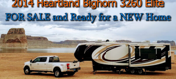 FOR SALE - 2014 HEARTLAND BIGHORN 3260 ELITE