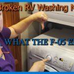 How to: Fixing an F-05 Error Splendide Ariston Washer
