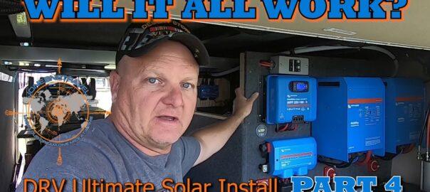 DRV ULTIMATE SOLAR INSTALL